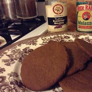 Eggless Ginger Cookies.