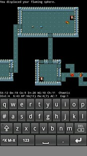 NetHack Slash'EM- screenshot thumbnail