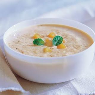 Peach and Yogurt Soup