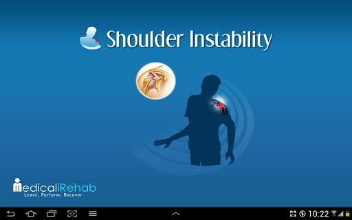 Shoulder Instability Tablet