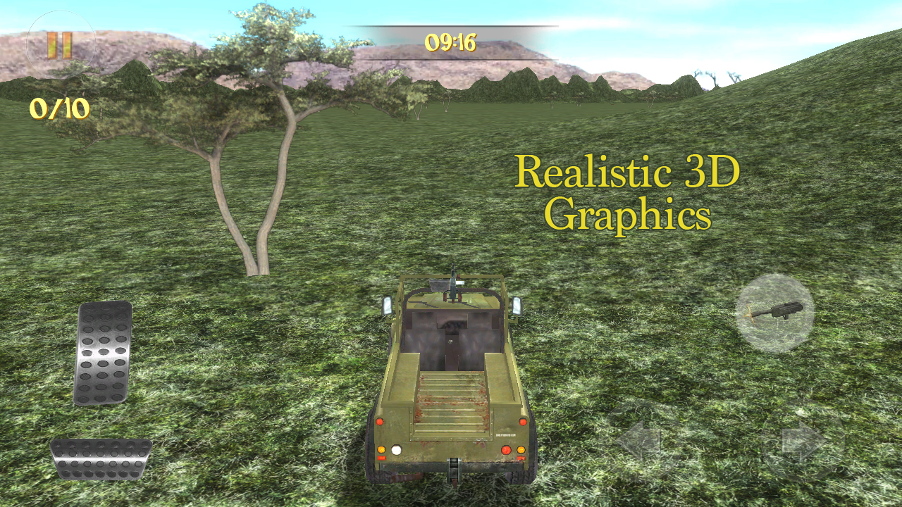 4x4 Safari Race : Poacher Hunt- screenshot