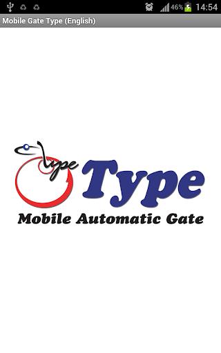 【免費工具App】Mobile Gate Type (English)-APP點子