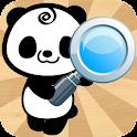 Panda Web Search Bar Simple icon