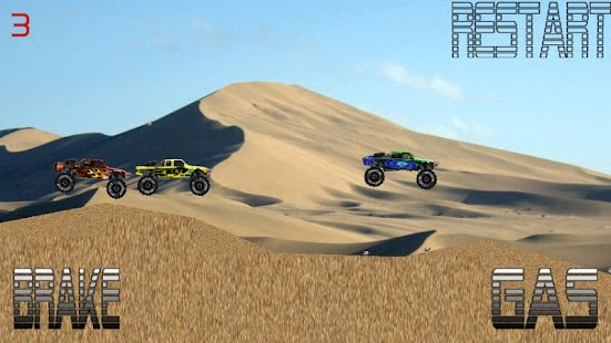 Baja Trophy Truck Racing- screenshot thumbnail
