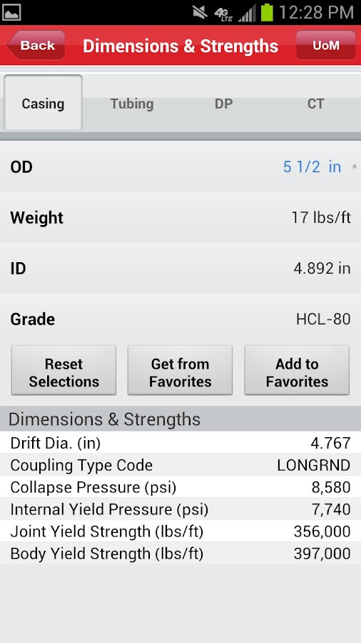 Halliburton eRedBook® Mobile - screenshot