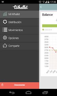 Whallet - Finanzas Personales: miniatura de captura de pantalla
