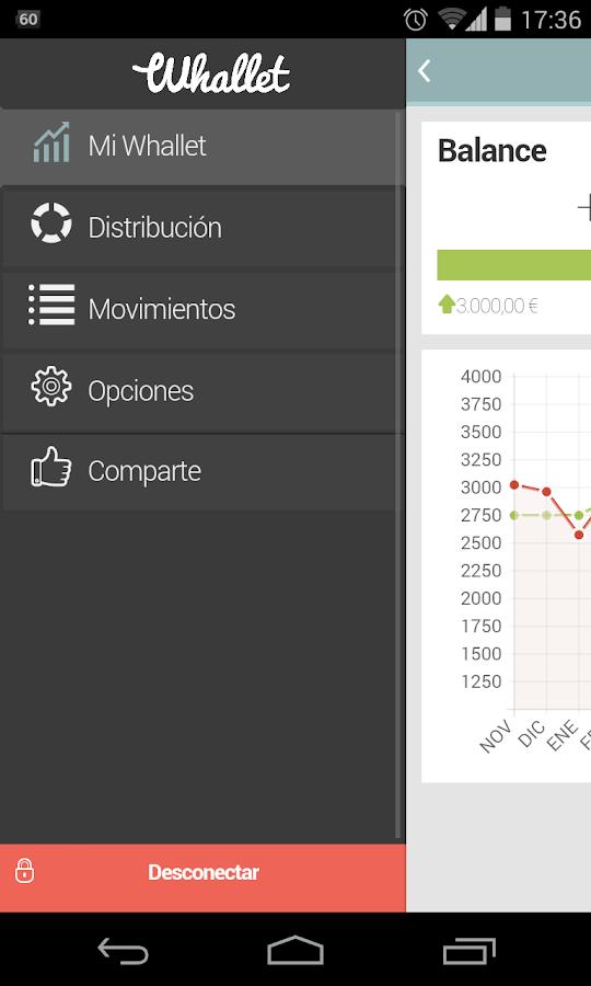 Whallet - Finanzas Personales - screenshot