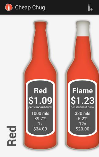 Cheap Alcohol Calculator