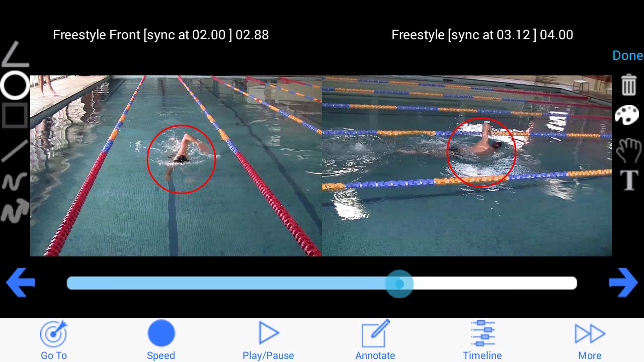 Swim Coach Plus- screenshot