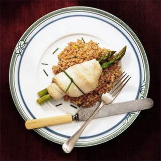 Asparagus Sole Rolls