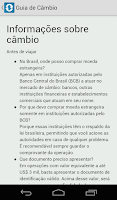 Screenshot of Câmbio Legal