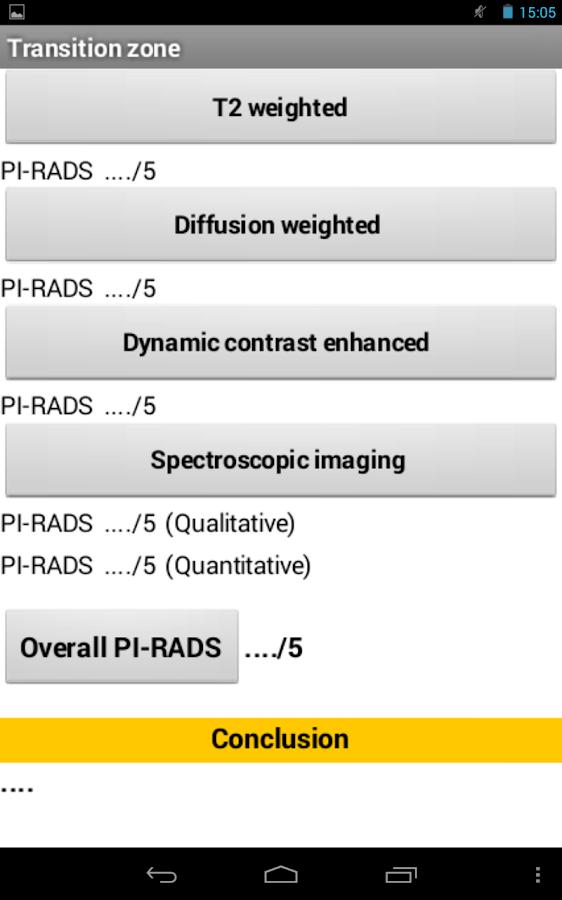 PI-RADS Prostate MRI- screenshot