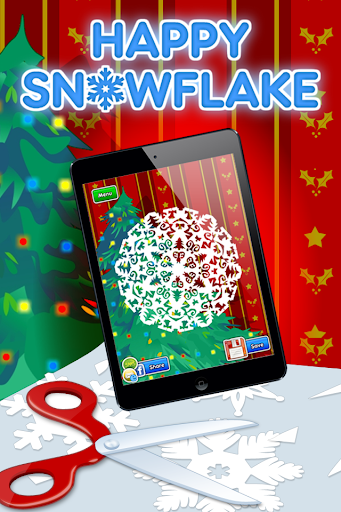Happy Snowflake Christmas fun