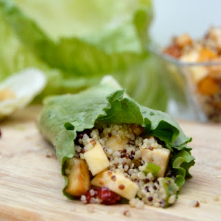 Maple Butternut Squash Tofu Lettuce Wraps