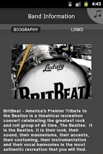 BritBeat Beatles Tribute - screenshot thumbnail