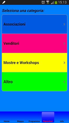 La mia fiera in un app
