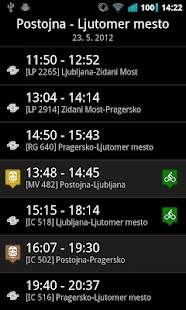 Vlaki - SLO železnice- screenshot thumbnail