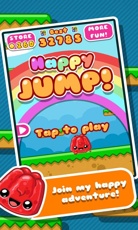 Screenshots of Happy Jump for iPhone