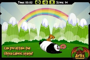 Screenshot of Fat Panda