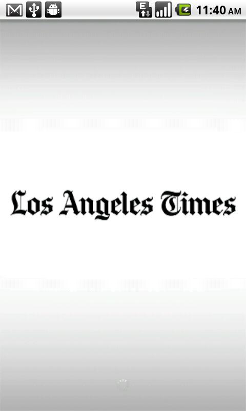 LA Times - screenshot