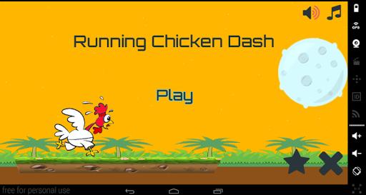 Running Chicken Dash