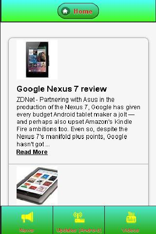 Nexus 7 News- screenshot