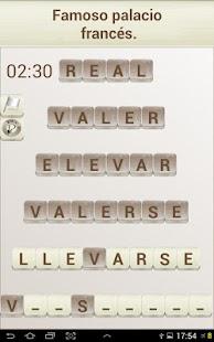 Juego de Palabras en Español- screenshot thumbnail