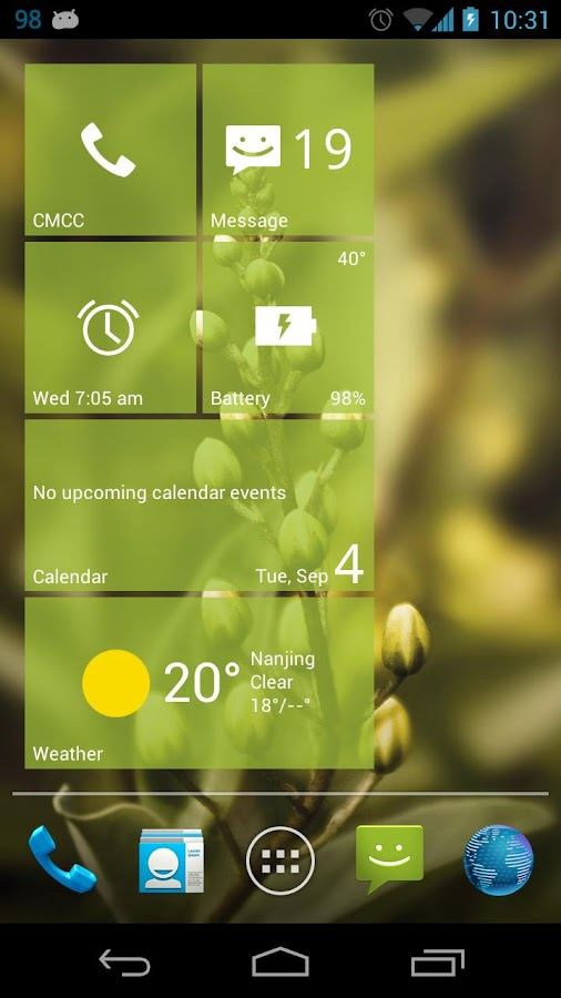 Real Widget Lite - screenshot