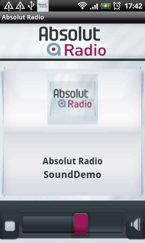 Absolut Radio- screenshot