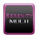 Serenity Launcher Theme Pink logo