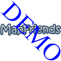 MapFriends Demo logo