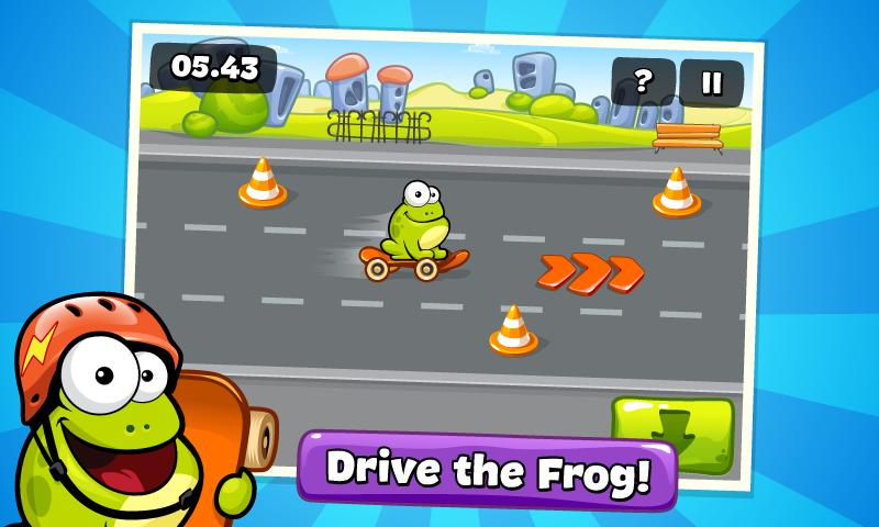 Screenshots of Tap the Frog for iPhone