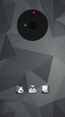 Sketchy B&W Apex Nova ADW Holo - screenshot
