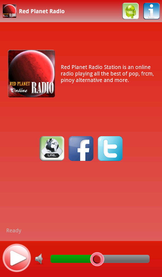 Red Planet Radio - screenshot