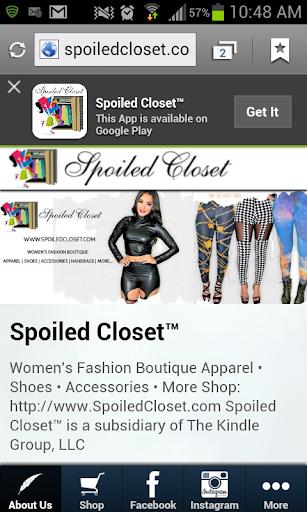 Spoiled Closet™