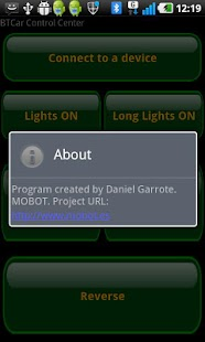 Mobot BTCar- screenshot thumbnail