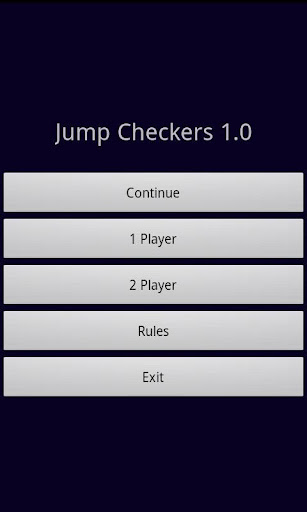 Jump Checkers