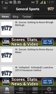 Pittsburgh Panthers - screenshot thumbnail