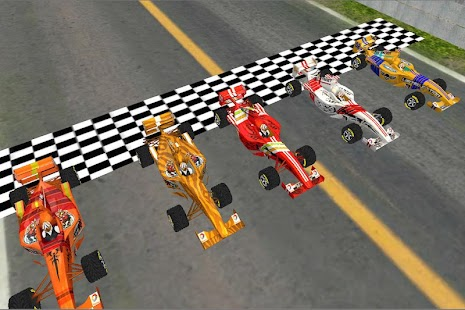 Super Crazy Formula Racing 3D- screenshot thumbnail