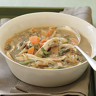 Creamy Wild Rice-and-Mushroom Soup