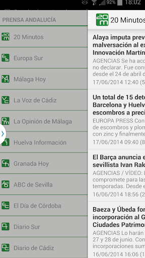 Prensa de Andalucía