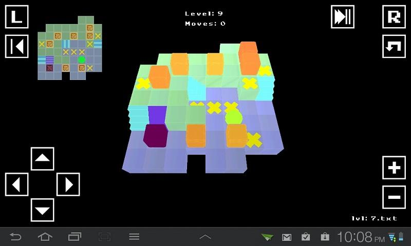 SokoEdge - Sokoban style game- screenshot