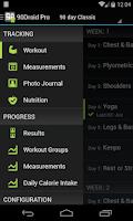 Screenshot of Fit XT Pro (90Droid)