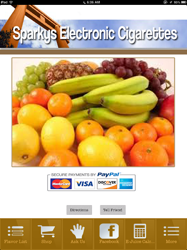 Sparky's Electronic Cigarettes
