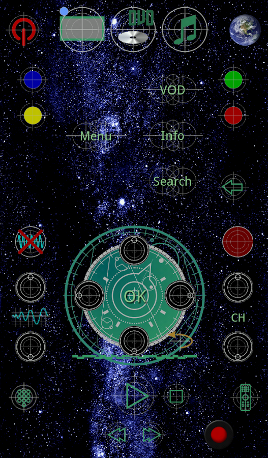 Deep Space Theme -- Touchsquid- screenshot