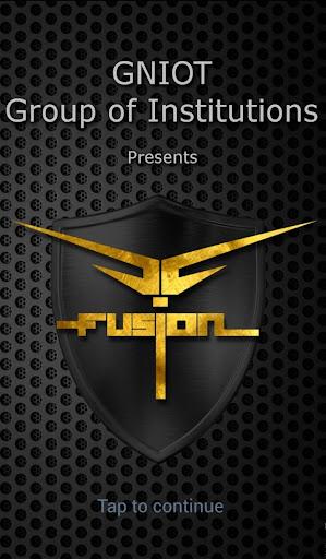 FUSION - GNIOT Annual Fest App