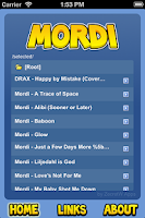 Screenshot of Mordi Player