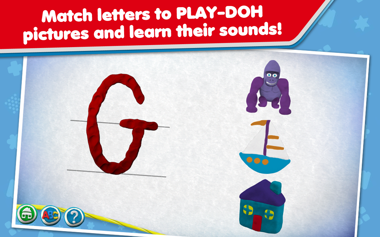 PLAY-DOH Create ABCs- screenshot