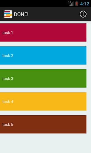 DONE 超シンプルなタスク管理アプリ