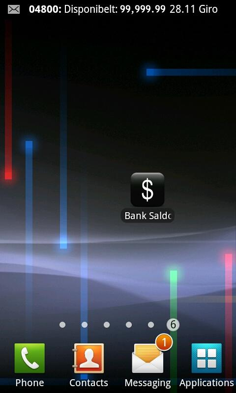 BankSaldo DNB- screenshot